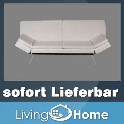 design schlafsofa bettsofa bettcouch schlafcouch in wei. Black Bedroom Furniture Sets. Home Design Ideas